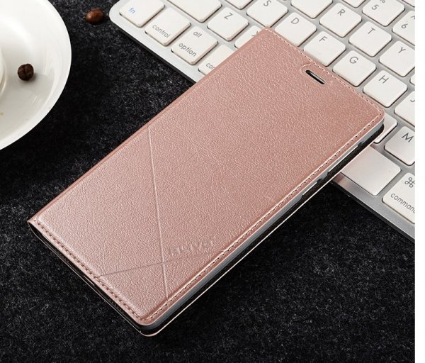 ALIVO ETUI FUTERAŁ - Huawei Honor 6X (rose-gold)