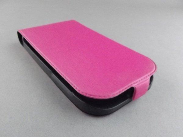 SLIM LINE - SATYNOWE ETUI FLIP CASE DO HTC DESIRE SV
