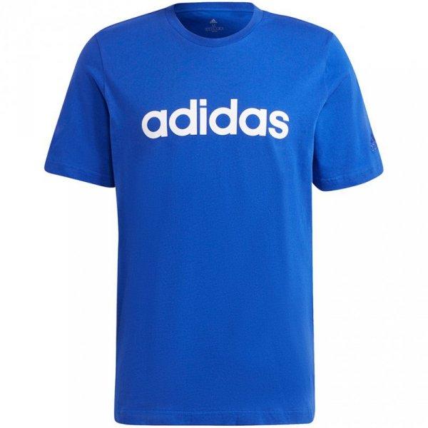 Koszulka męska adidas Essentials Embroidered niebieska H12183