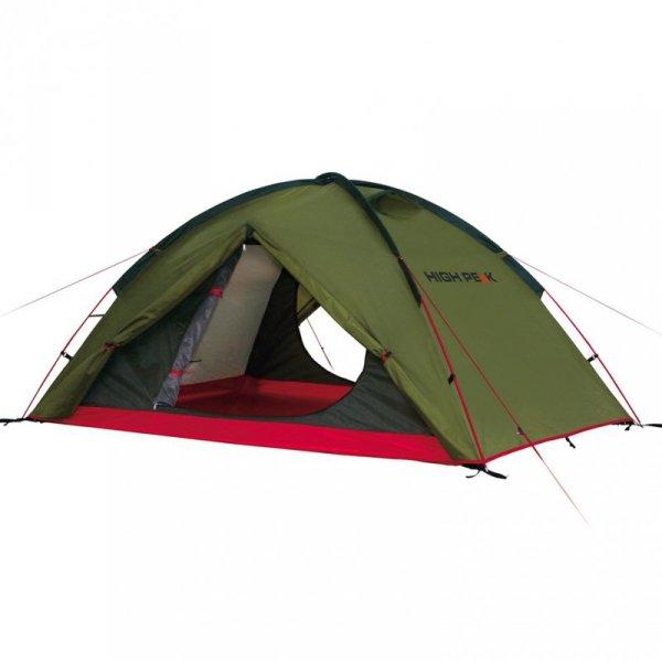 Namiot High Peak Woodpecker zielono czerwony 10194