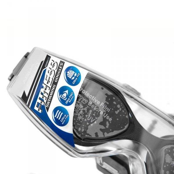 Okulary pływackie Aqua-Speed Blade czarno-czerwone 31 059