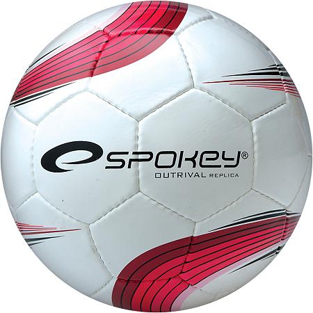 Piłka Nożna Spokey Outrival Replica biało-czerwona 833968