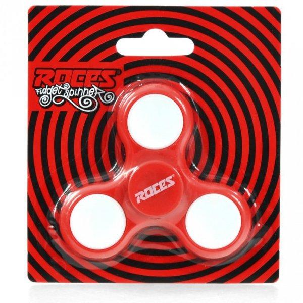 Fidget Spinner Roces czerwono-biały 30596 01