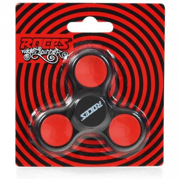 Fidget Spinner Roces czarno-czerwony 30596 02