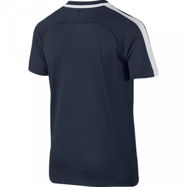 Koszulka dla dzieci Nike Dry Top SS Academy JUNIOR granatowa 832969 451