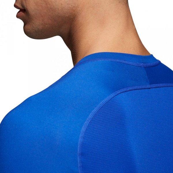 Koszulka męska adidas Alphaskin Sport LS Tee niebieska CW9488