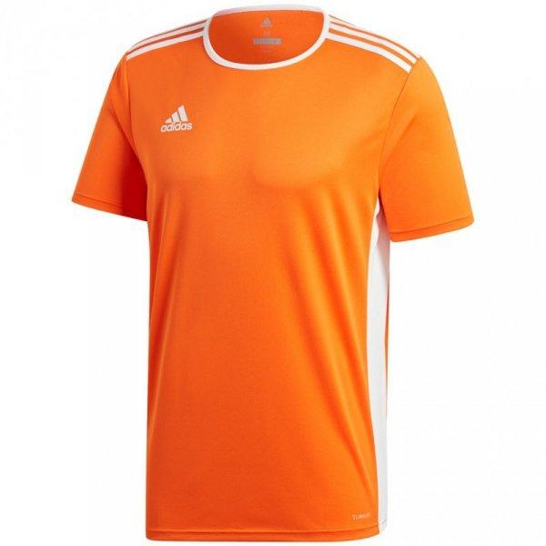 Koszulka dla dzieci adidas Entrada 18 Jersey JUNIOR pomarańczowa CD8366/CF1043