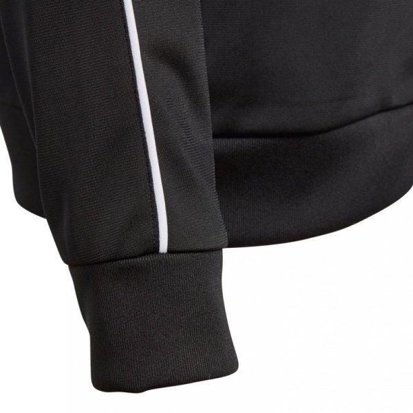 Bluza dla dzieci adidas Core 18 Polyester Jacket JUNIOR czarna CE9052