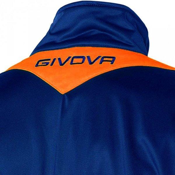 Dres Givova Tuta Visa Fluo niebiesko-pomarańczowy TR018F 0228