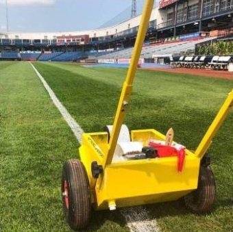 Wózek do malowania linii boiska Wembley 12 cm