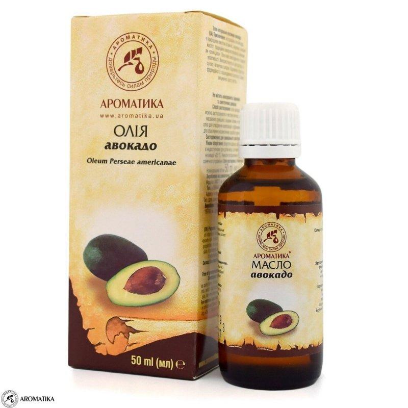 Olej z Awokado, 100% Naturalny, Aromatika, 50ml