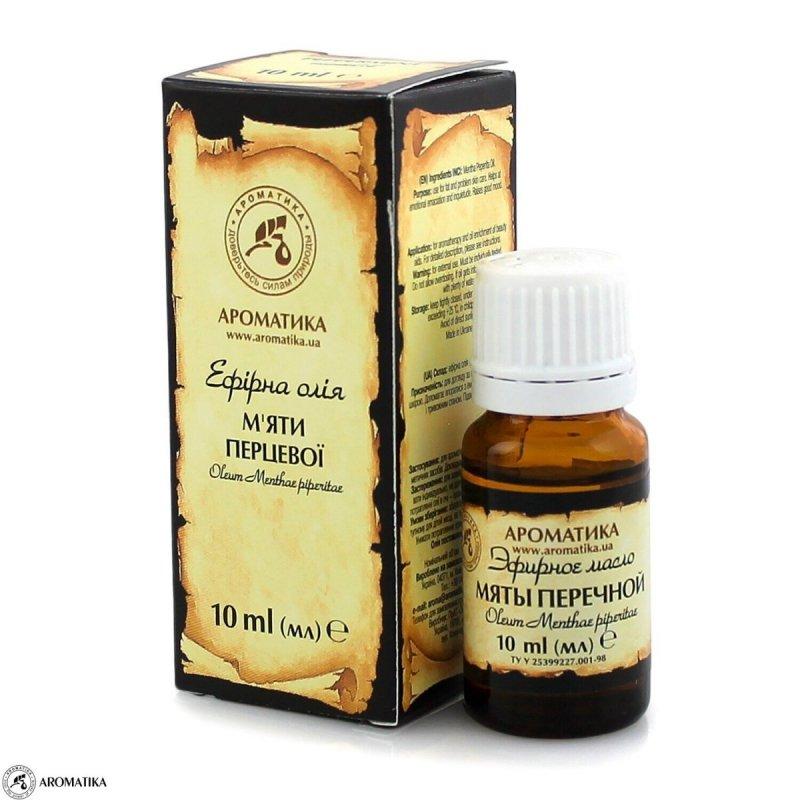 Olejek Miętowy, Aromatika, 100% Naturalny, 10ml