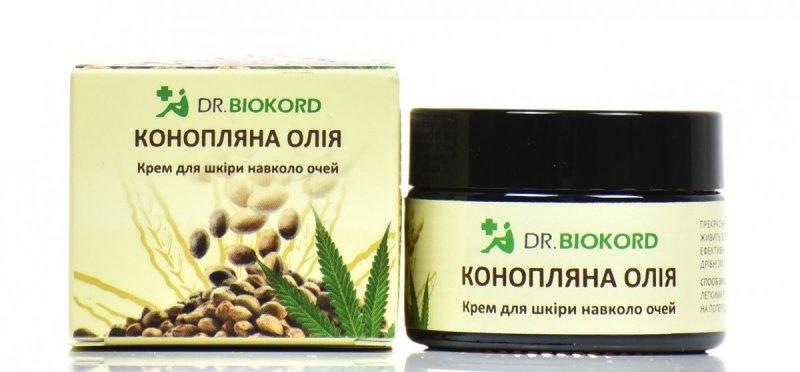Krem do Skóry wokół Oczu z Olejem Konopnym, Dr.Biokord