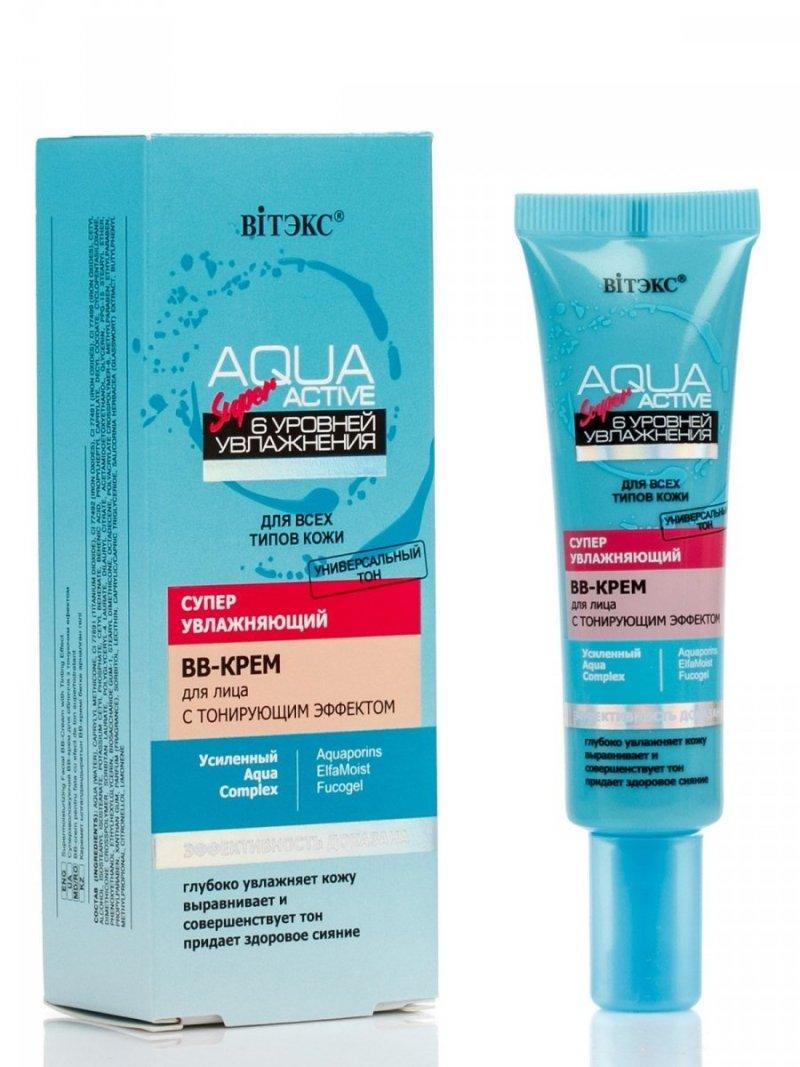 Super Nawilżający BB Krem Tonujący, Aqua Super Active 30ml.