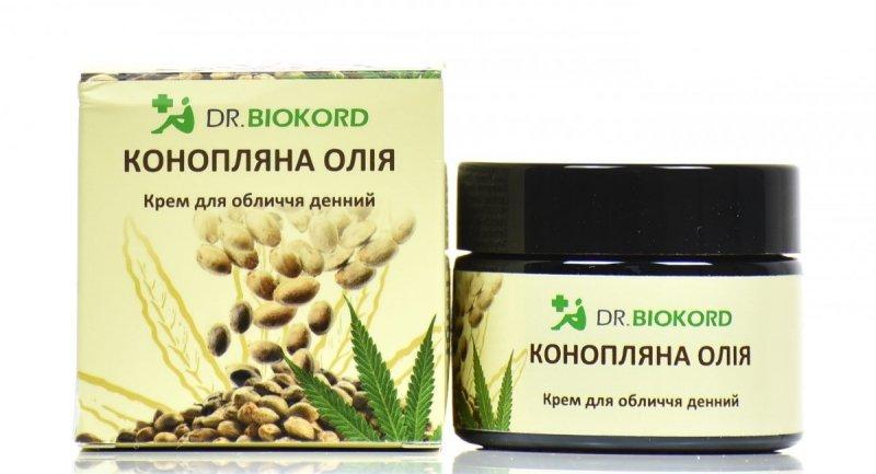 Krem do Twarzy na Dzień z Olejem Konopnym, Dr.Biokord