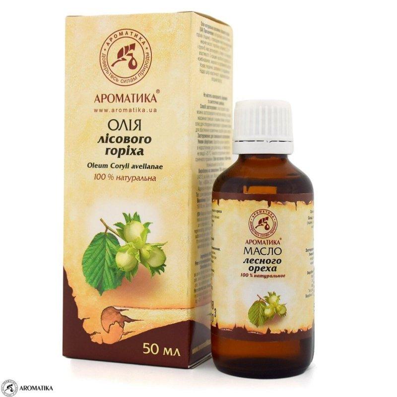 Olej z Orzechów Laskowych, 100% Naturalny, 50ml
