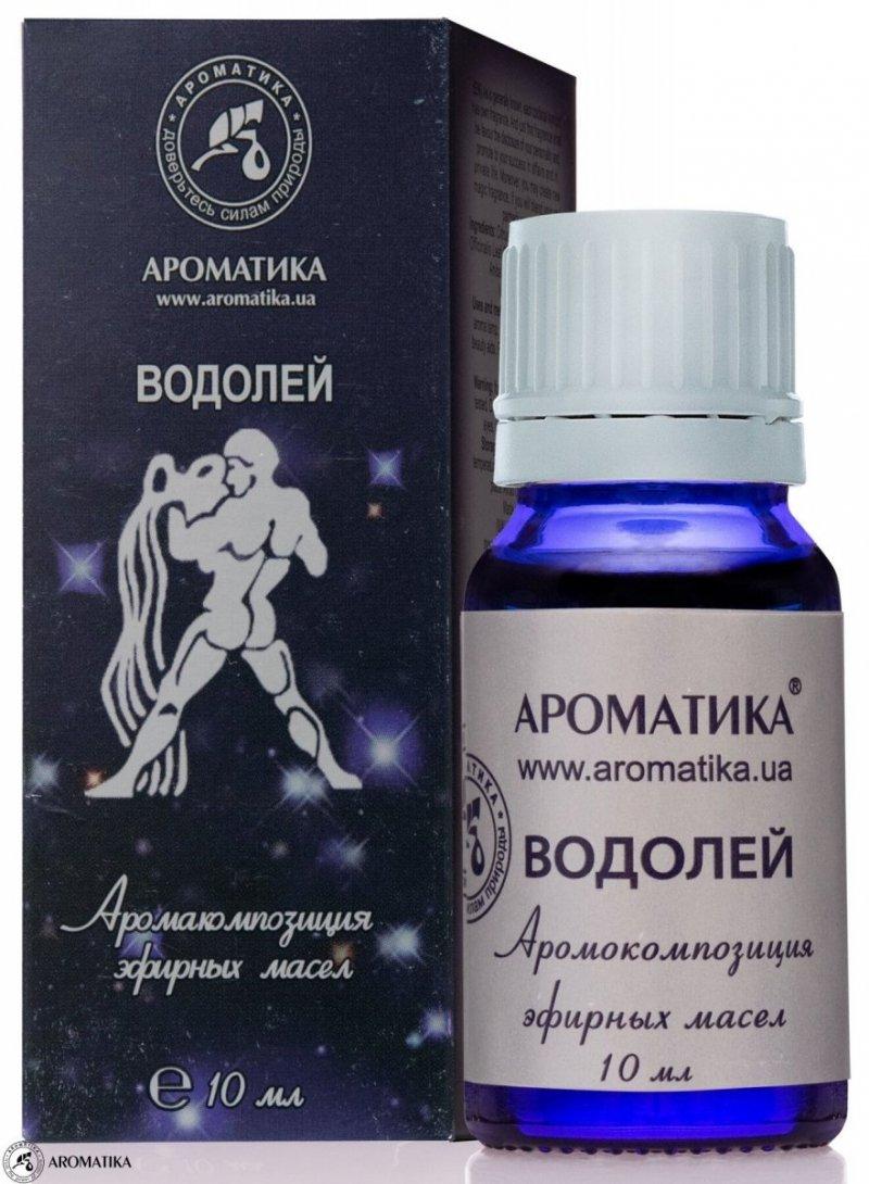 Wodnik Kompozycja Olejków Aromaterapeutyczna dla Znaku Zodiaku, 100% Naturalna
