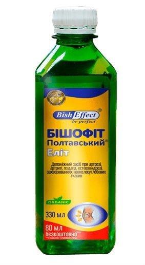Biszofit Połtawski Elit, Płyn, Bisheffect, 330 ml
