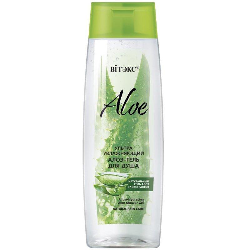Ultra Nawilżający Żel pod Prysznic z Aloesem, ALOE