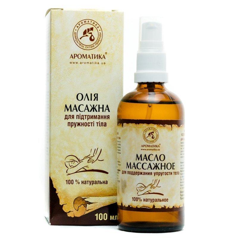 Olej do Masażu Ujędrniającego, Aromatika, 100ml