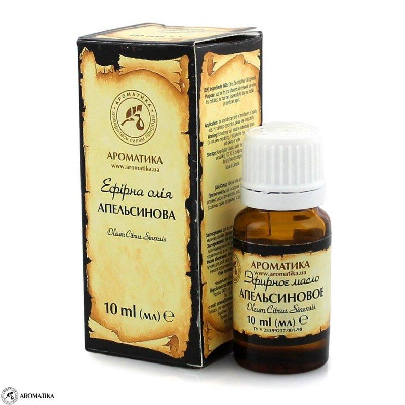 Olejek Pomarańczowy, 100% Naturalny, Aromatika, 10ml