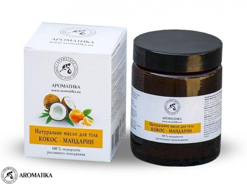 Masło do Ciała Kokos i Mandarynka, Aromatika, 100ml