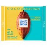 Ritter Sport 61% Cocoa Czekolada gorzka 100 g
