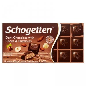 Schogetten Czekolada z kakao i orzechami laskowymi 100 g