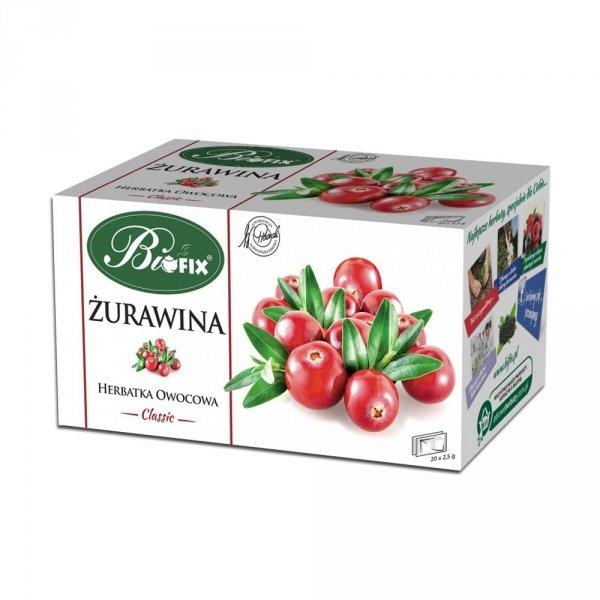 BIFIX Classic Herbatka owocowa Żurawina 50g