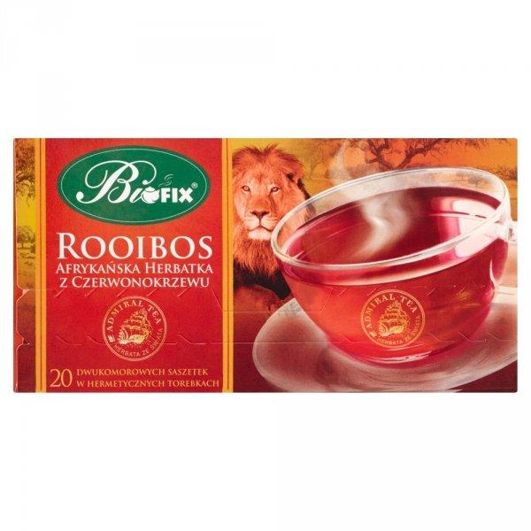 BIFIX Rooibos herbata afrykańska z czerwonokrzewu 40g
