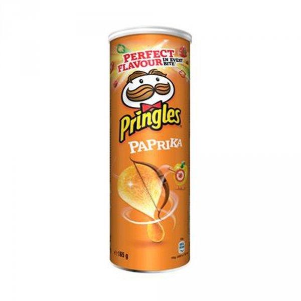 Pringles Chipsy paprykowe 165g