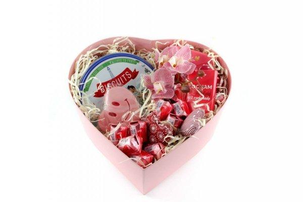 Zestaw upominkowy na Walentynki dla Niej