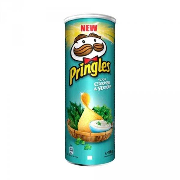 Pringles Chipsy Cream & Herbs 165g