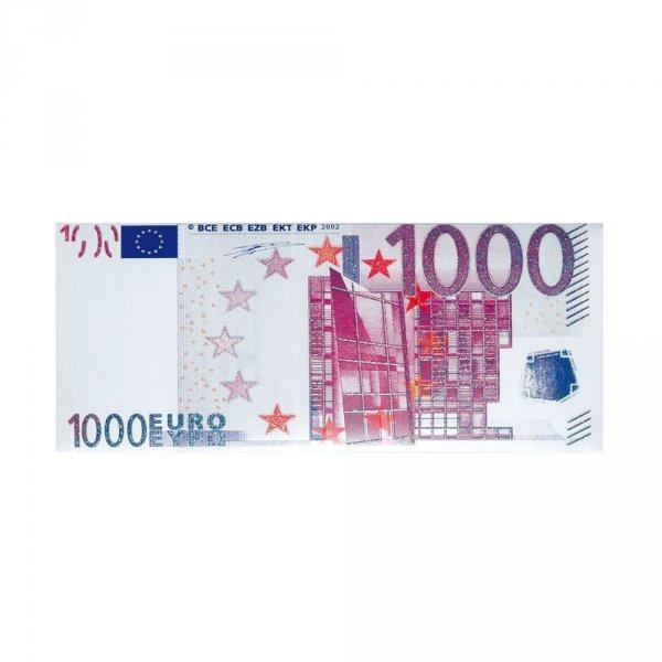 Banknot 1.000 Euro Czekolada mleczna Fikar