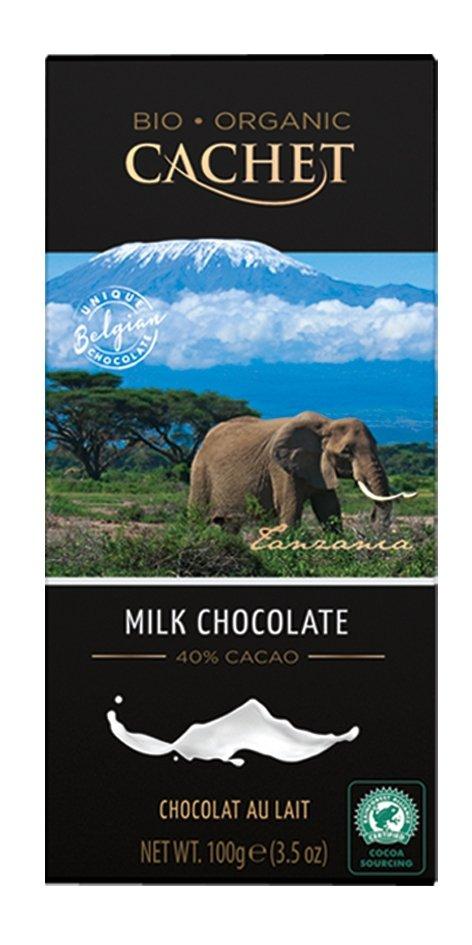 Cachet Belgijska Czekolada Mleczna 40% Milk Chocolate 100g