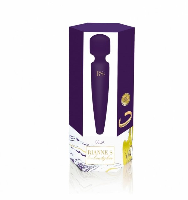 Rianne S ESSENTIALS - Bella Mini Body Wand Deep Purple