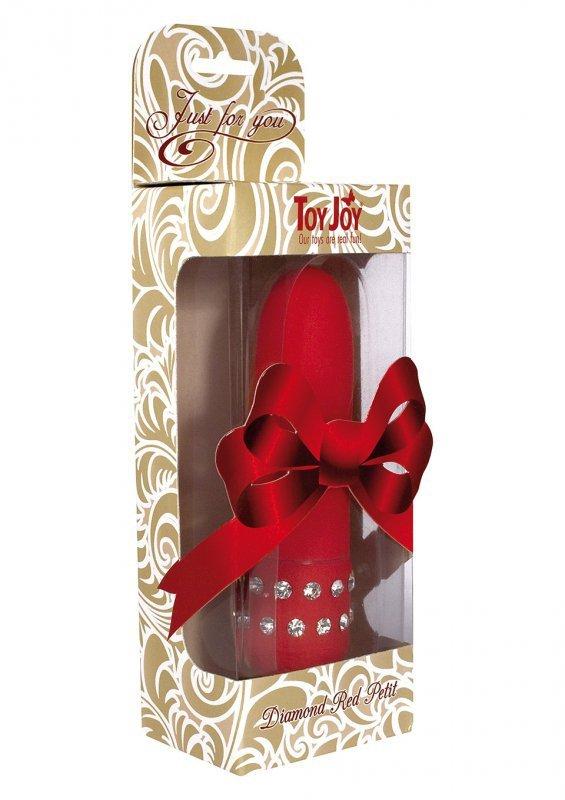 Wibrator-DIAMOND RED PETIT VIBE