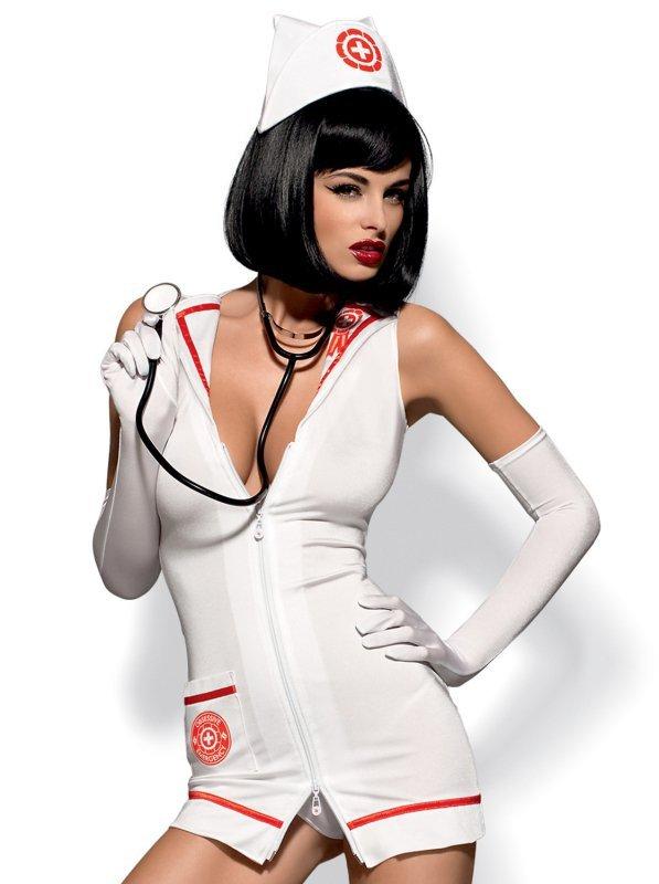 Bielizna-Emergency dress kostium  S/M + stetoskop