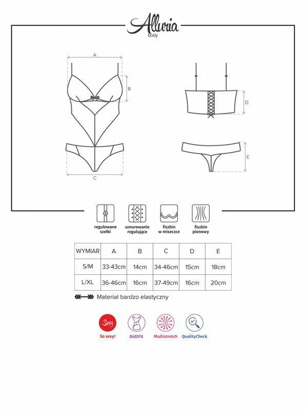Bielizna-Alluria body  S/M