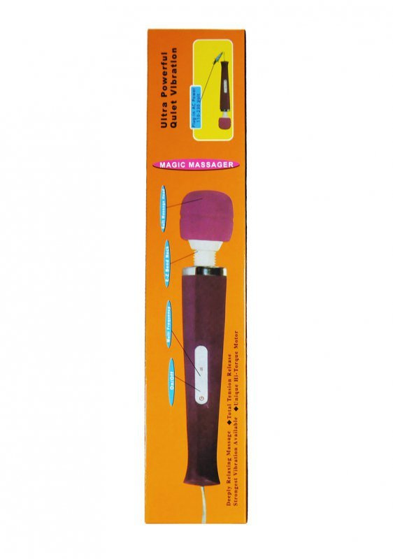 Stymulator-Magic Massager Wand USB Bezprzewodowy Violet