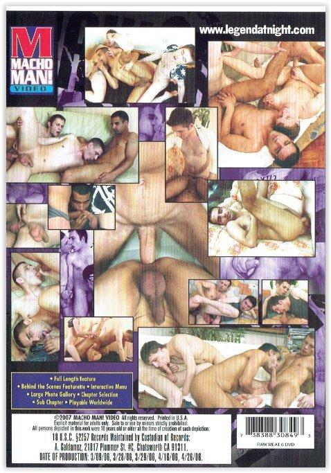 DVD-Raw Meat 6