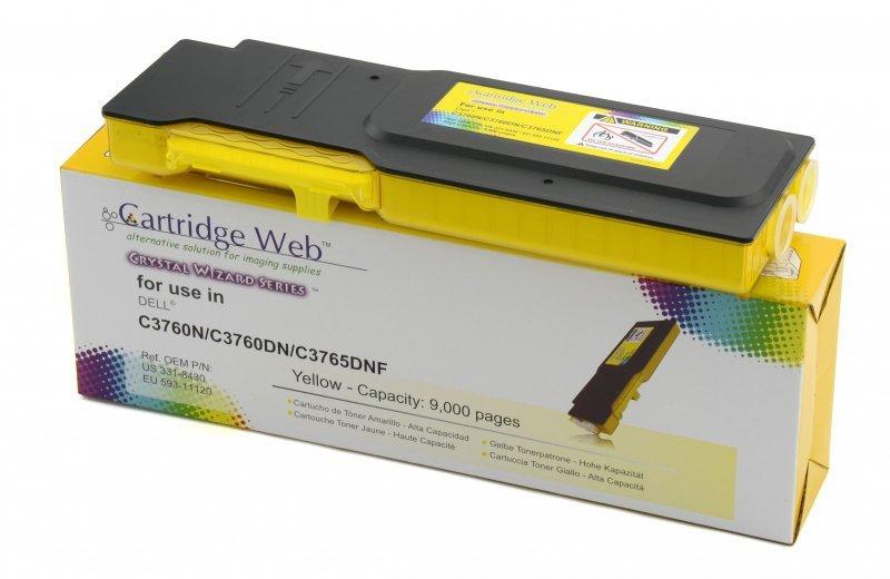 Toner Cartridge Web Yellow Dell 3760 zamiennik 593-11120