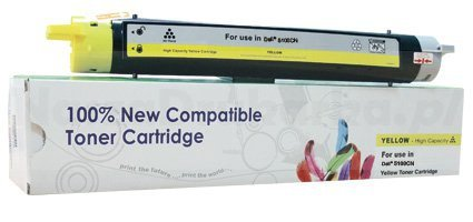 Toner Cartridge Web Yellow Dell 5100 zamiennik 593-10053