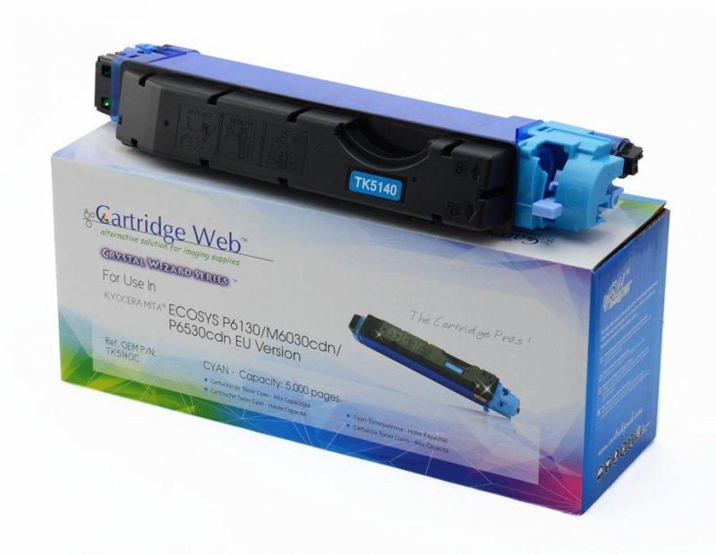 Toner Cartridge Web Cyan Kyocera TK5140 zamiennik TK-5140C