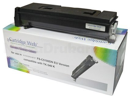 Toner Cartridge Web Black Kyocera TK540/TK542 zamiennik TK-540K