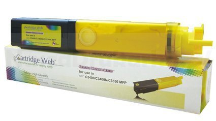Toner Cartridge Web Yellow OKI C3400 zamiennik 43459329