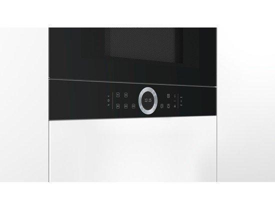 Kuchenka mikrofalowa BOSCH BFR634GB1 (900W; 21l; kolor czarny)