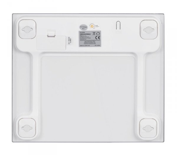 Waga łazienkowa ELDOM GWO250B (kolor biały)