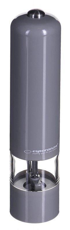 Młynek elektryczna do pieprzu Esperanza Malabar EKP001E (kolor szary)