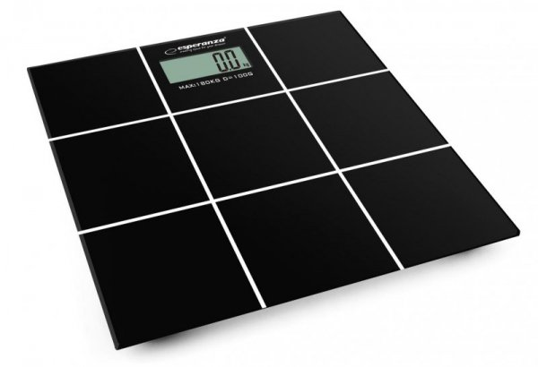 Waga łazienkowa Esperanza Salsa EBS004 (kolor czarny)